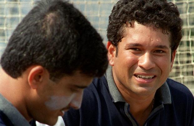 Ganguly and Tendulkar were part of the winning Indian team.