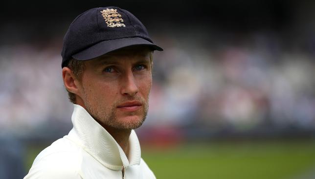 England skipper Joe Root.