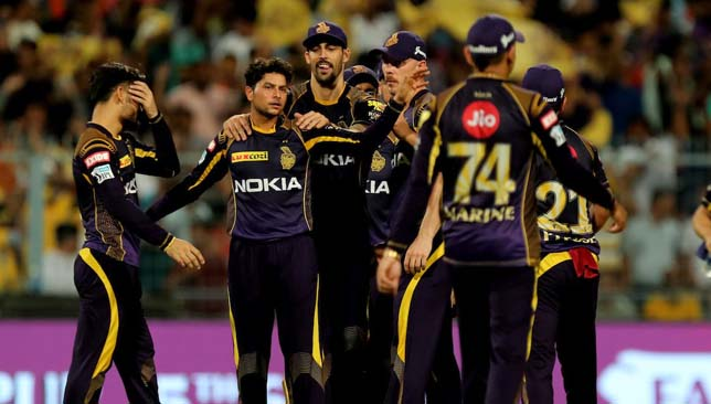 Big game: Kolkata Knight Riders. Image: IPL/Twitter