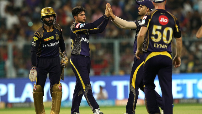 Kuldeep Yadav was the star for Kolkata.