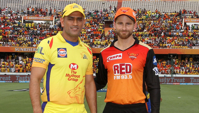 Dhoni and Williamson are two of the finest captains in the game. Image: BCCI.