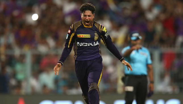 Kuldeep Yadav took the scalps of Dhawan and Williamson in one over. Image: BCCI.