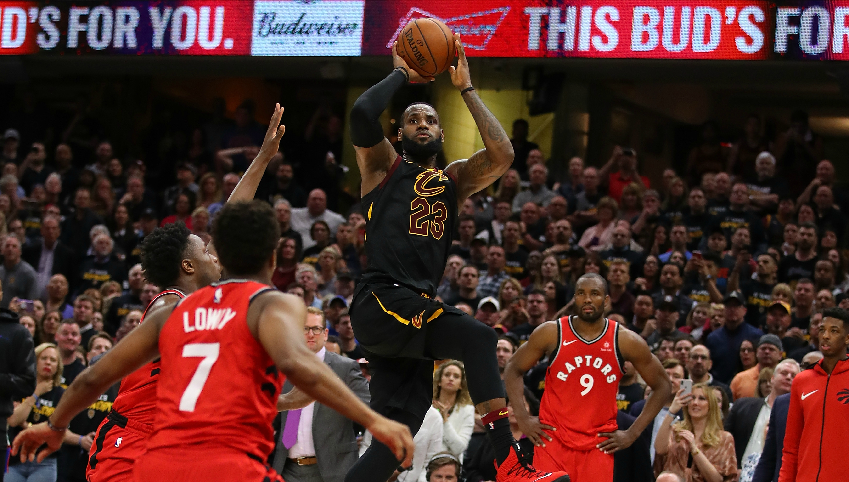 7c4f8d09263d LeBron James delivers another game-winner to crush Toronto Raptors  hopes