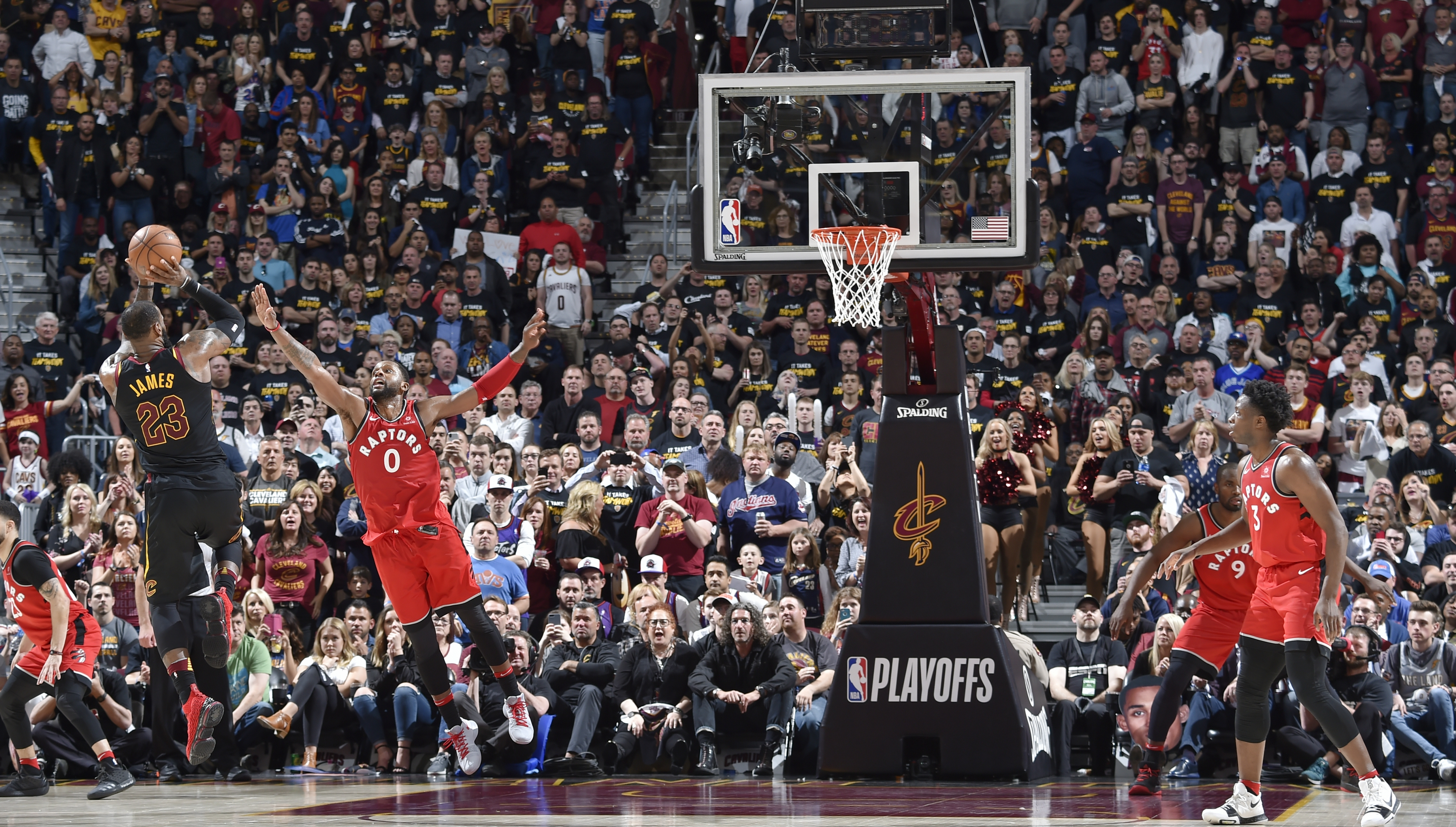 NBA news: Relive LeBron James' unorthodox buzzer-beater to ...