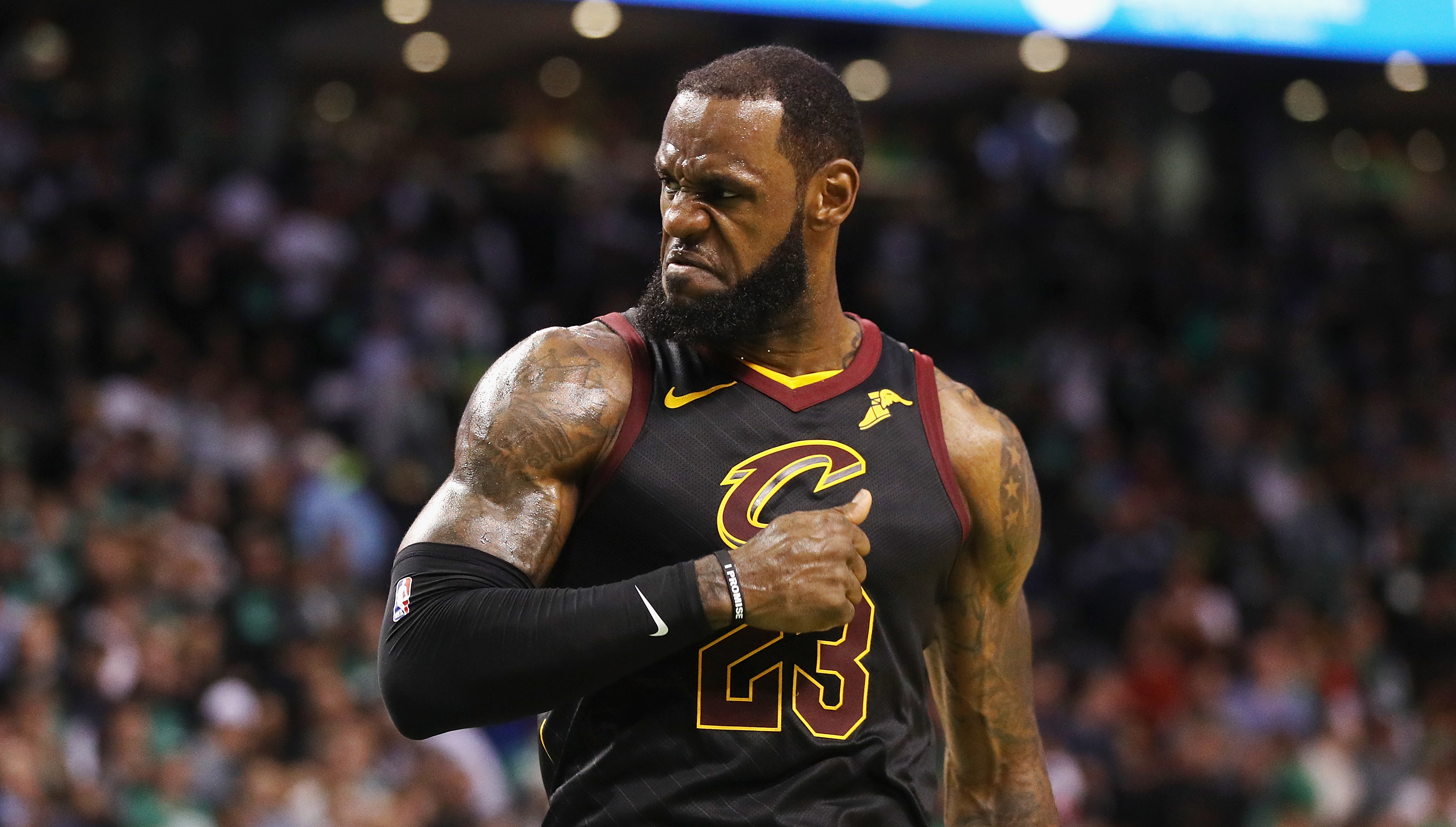d6f9b3975c6 LeBron James carrying the Cleveland Cavaliers to another NBA Finals  solidifies his unique greatness