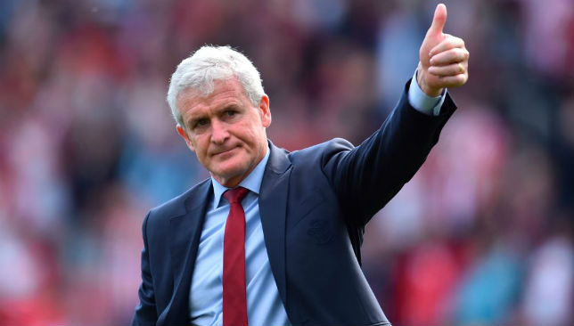 Hughes won just one of 14 Premier League games with Saints this season.