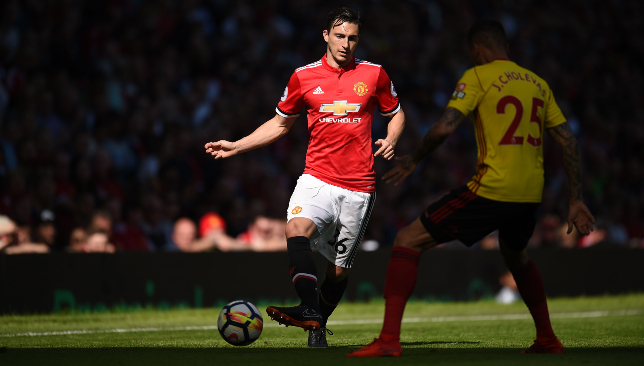 Out of favour at United: Darmian.