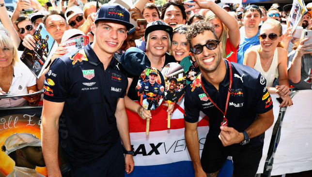 Ricciardo will leave Red Bull and Max Verstappen at the end of the season.