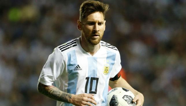Messi of Argentina