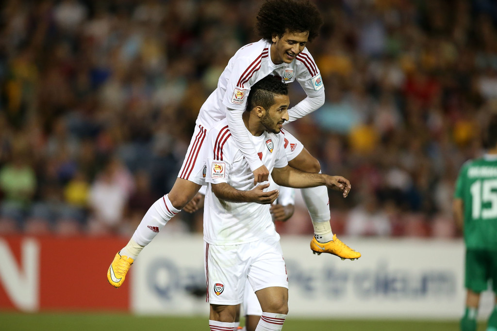 Generational talents: Ali Mabkhout and Omar Abdulrahman.