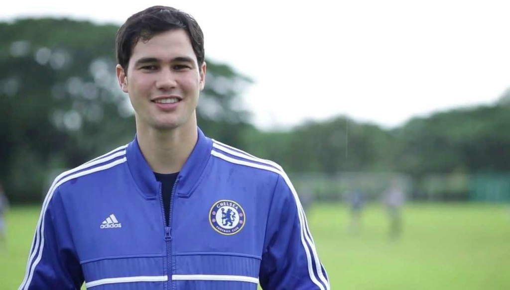 Phil Younghusband came through the ranks at Chelsea.