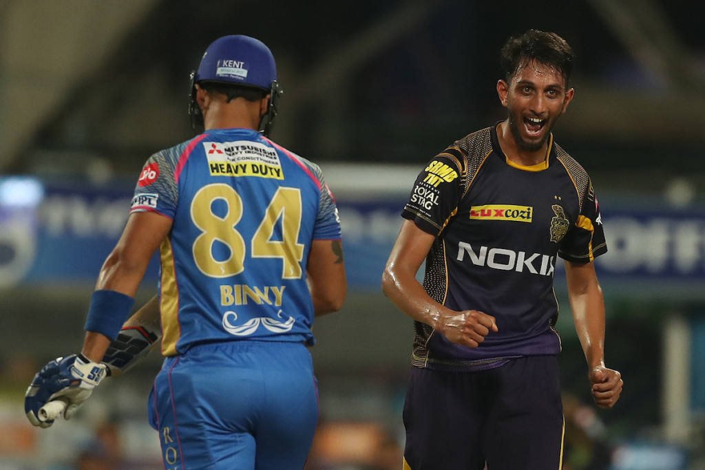 Krishna impressed after being given a chance. Image - BCCI.