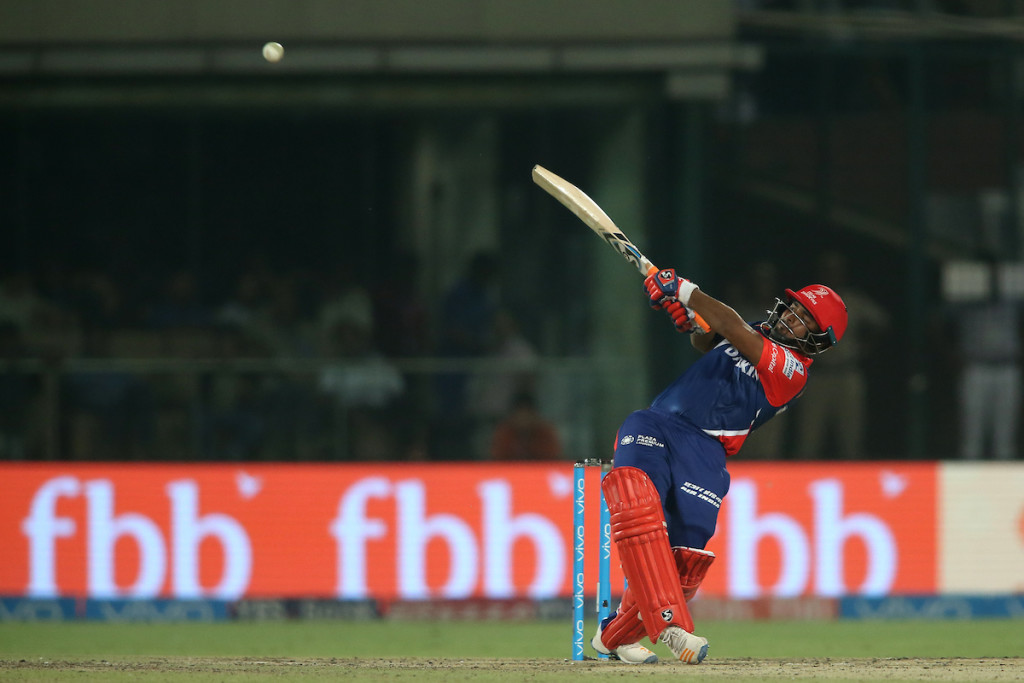 Pant played some highly explosive innings. Image - BCCI.