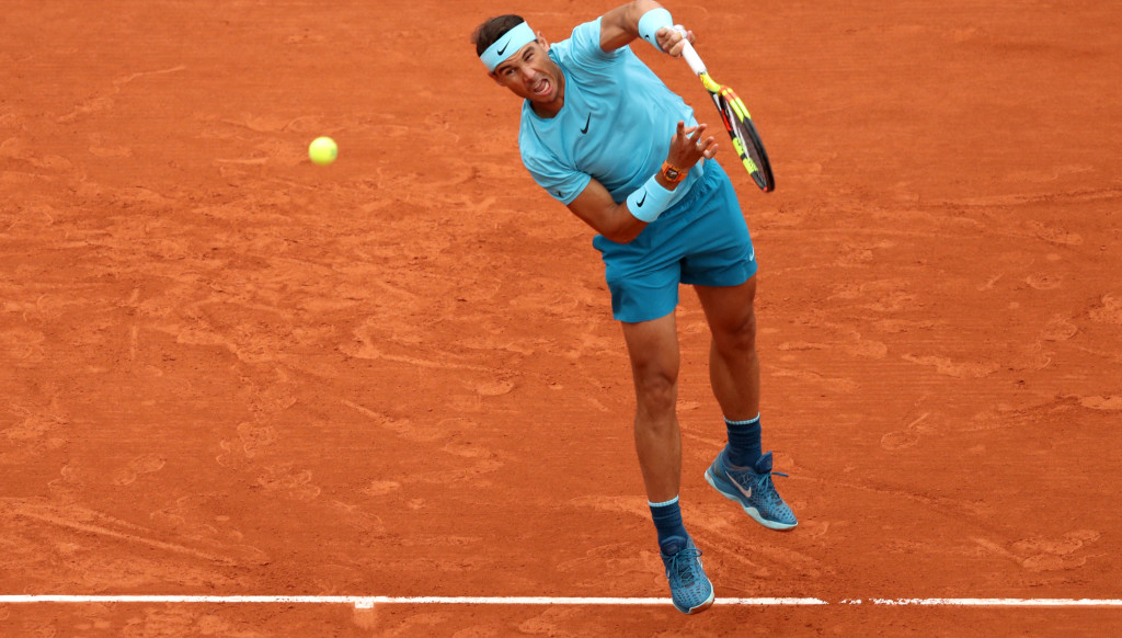 Rafael Nadal won his 80th match at Roland Garros.
