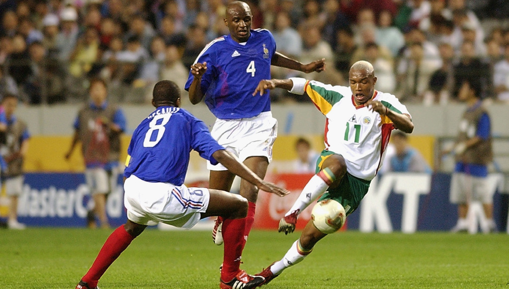 Senegal sensationally beat France at the 2002 World Cup.