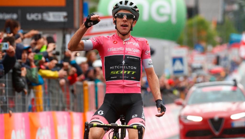 Simon Yates spent 13 days in the Maglia Rosa during the Giro d'Italia this year.