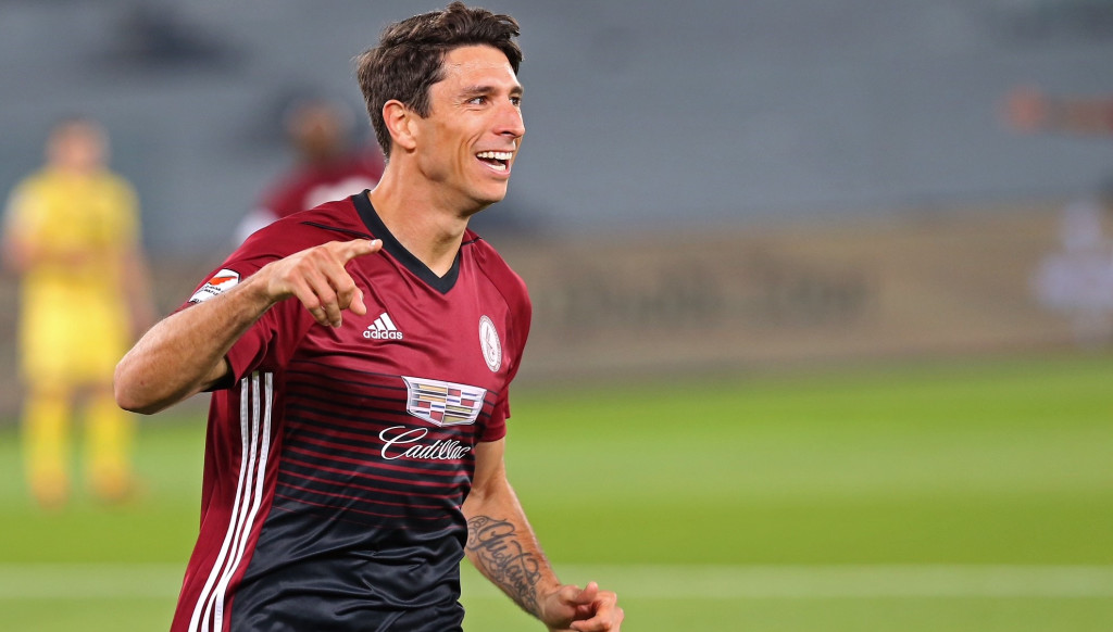 Sebastian Tagliabue overtook Asamoah Gyan as the AGL's top-scoring foreigner last season.