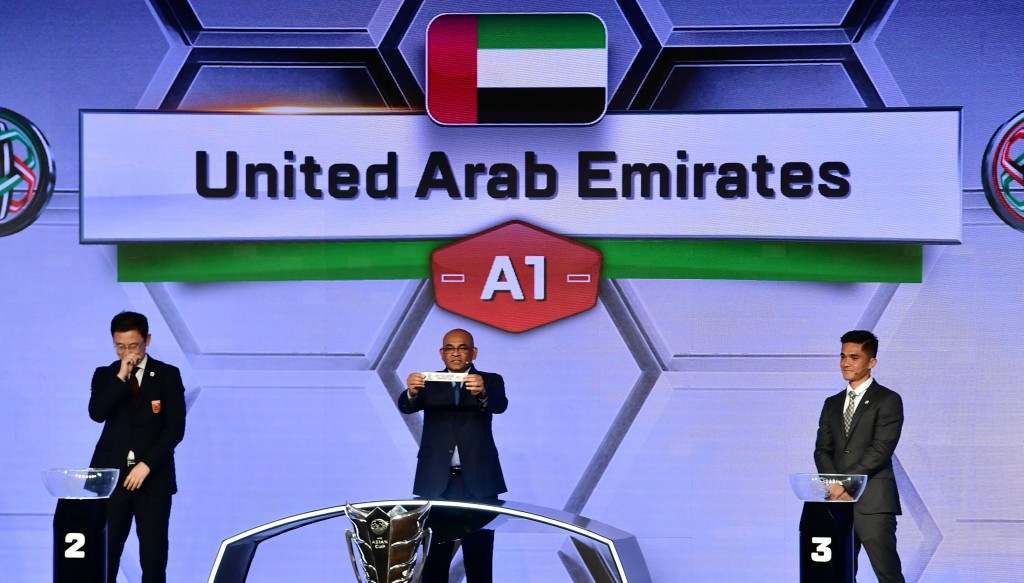UAE Asian Cup draw