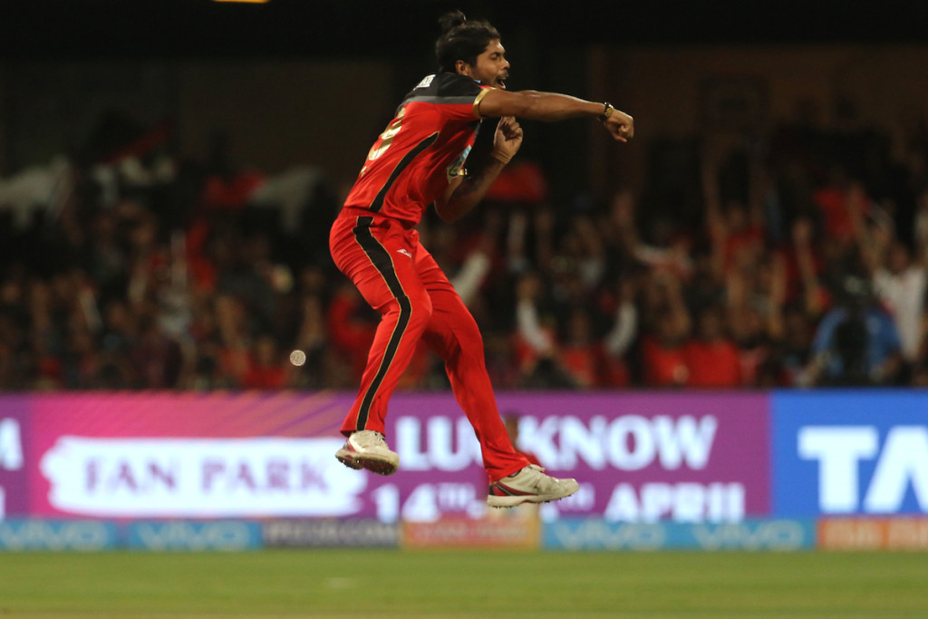 Yadav was on fire in his spell against Kings XI Punjab. Image - BCCI.