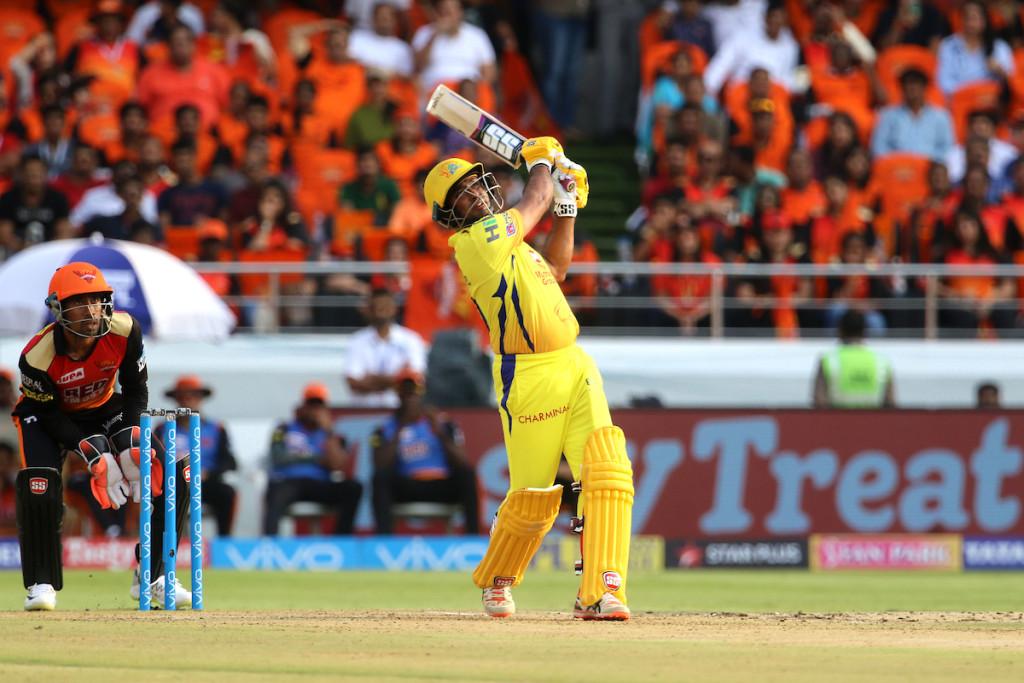 Rayudu scored a century against SRH. Image - BCCI.
