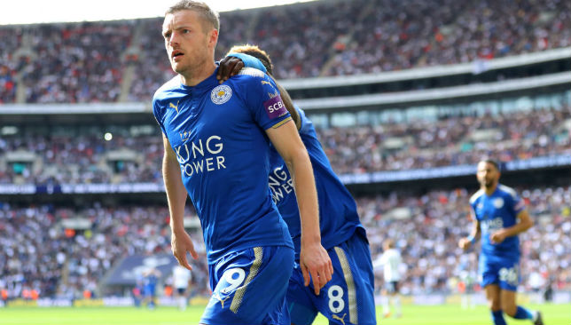 Vardy of Leicester City