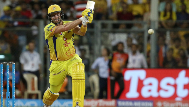 Watson notched up his fourth IPL ton in CSK's win. Image - IPL/Twitter.