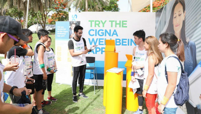 Wellbeing App station