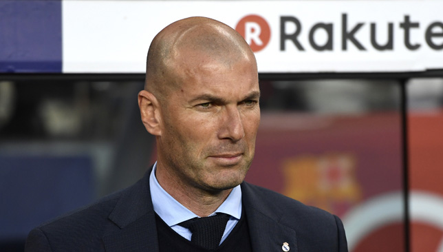 Zidane is focused on Champions League final.