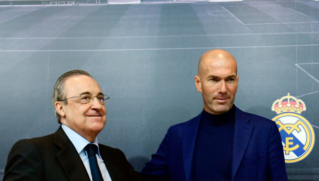 Zidane took the football world by surprise with his resignation.