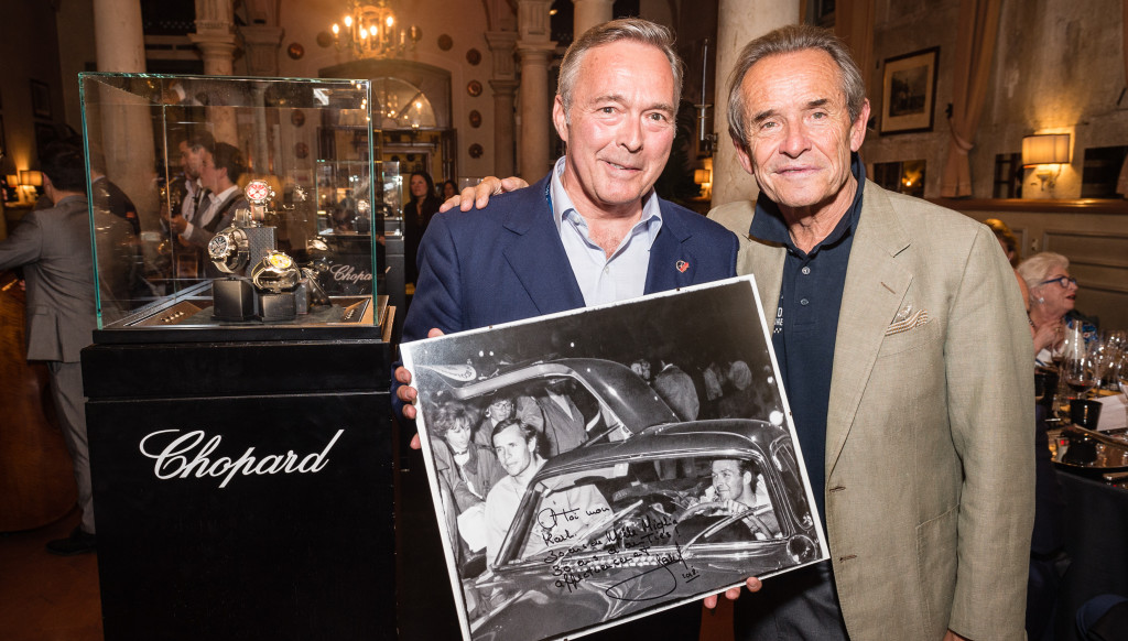 Partners in time: Karl-Friedrich Scheufele and Jacky Ickx
