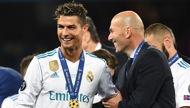 Three times Champions League winner Zizou