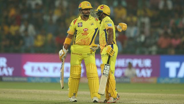 Raina and Rayudu have had a great IPL. Image: BCCI.