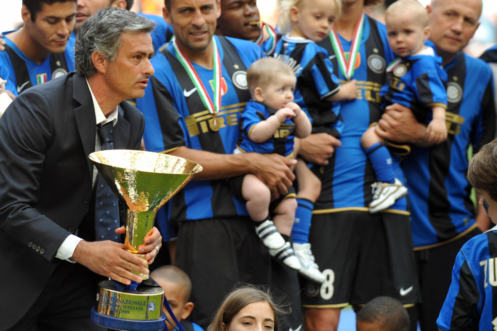 Champions again: Mourinho wins the league with Inter Milan
