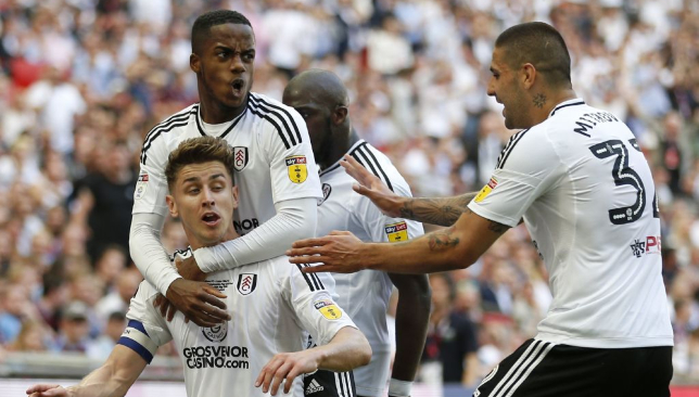 Fulham beat Aston Villa in the play-off final to get back into the Premier League.