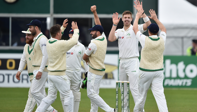 Ireland played well in their inaugural Test.