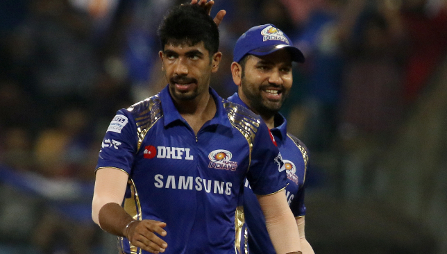 Bumrah's economy was less than seven an over. Image: BCCI.