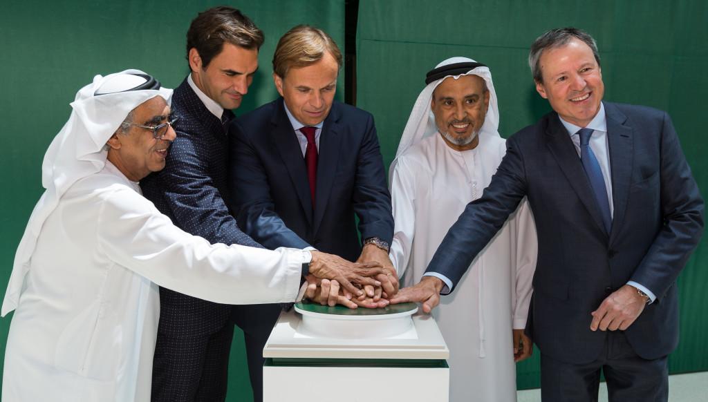 Grand Slam: Federer in Dubai
