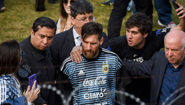 Homecoming: Lionel Messi.