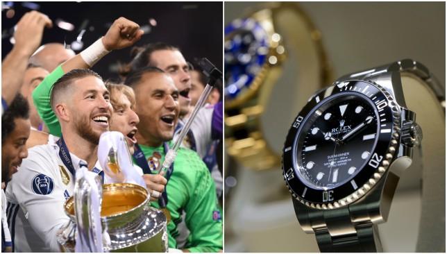 Rolex watches for Zidane's Duodecima heroes.