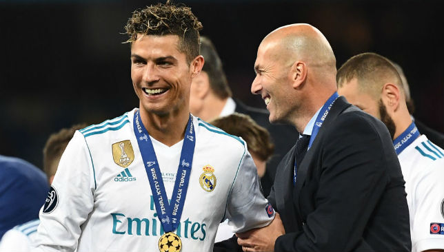 Record breakers: Both Zinedine Zidane and Cristiano Ronaldo set records in Kiev