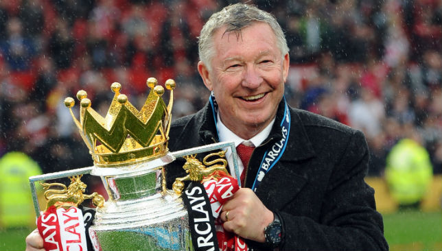 Ten Cate labelled Sir Alex Ferguson a legend of football.