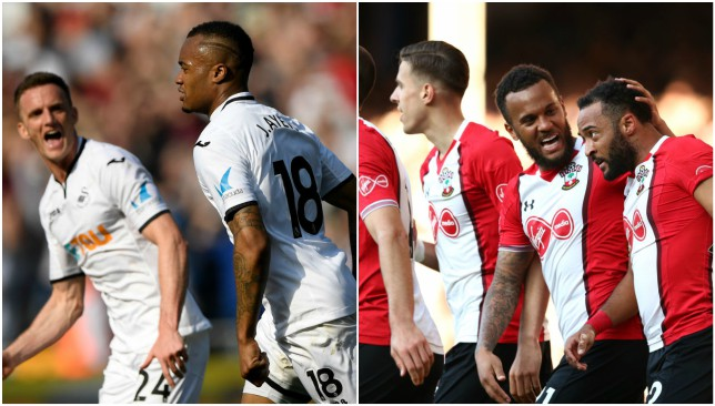 West Brom relegated after Southampton beats Swansea 1-0