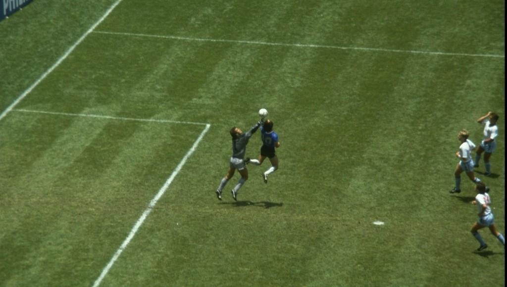 Hand of God: Maradona's controversial goal against England