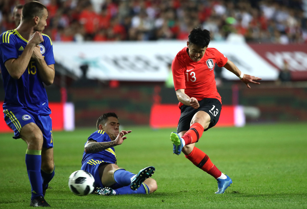 Heung-min son will hope he can replicate his club form for his country.