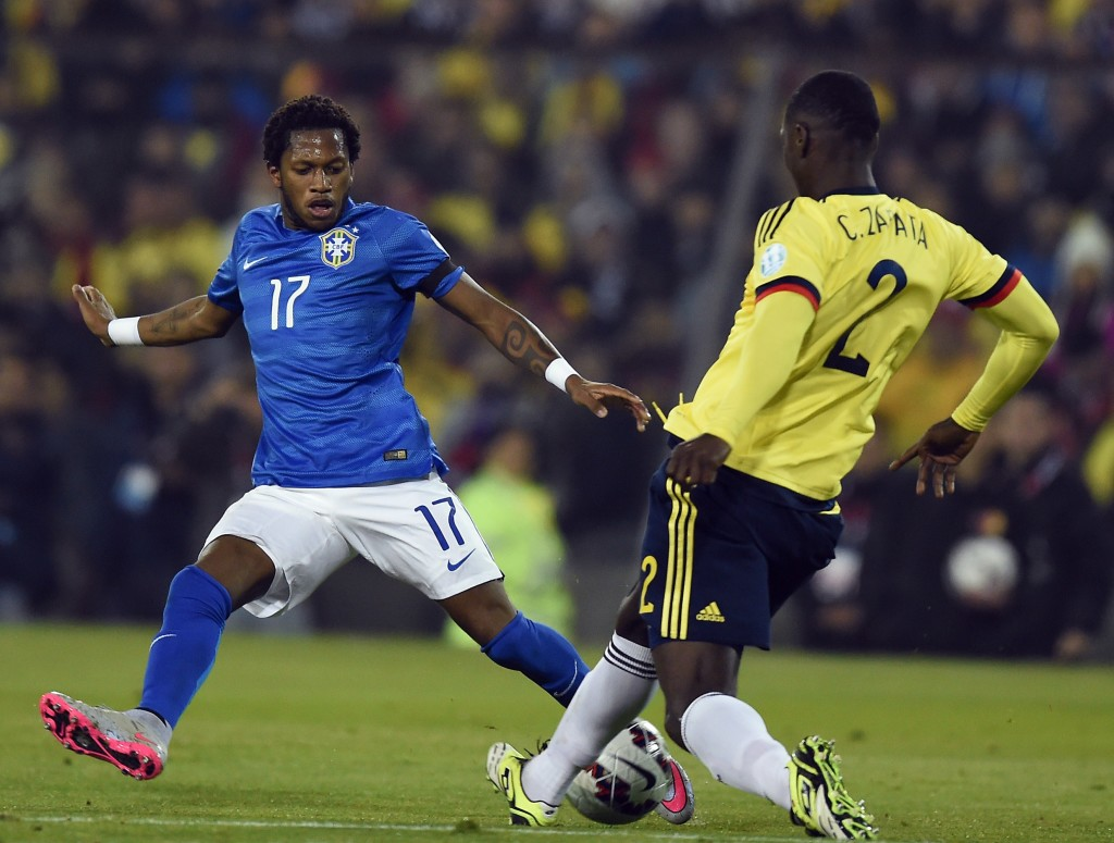 Fred was suspended after testing positive for a banned substance at the 2015 Copa America.