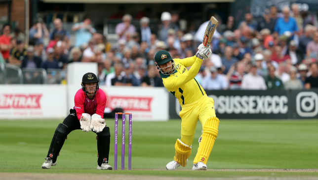 Marcus Stoinis guided Australia to victory.