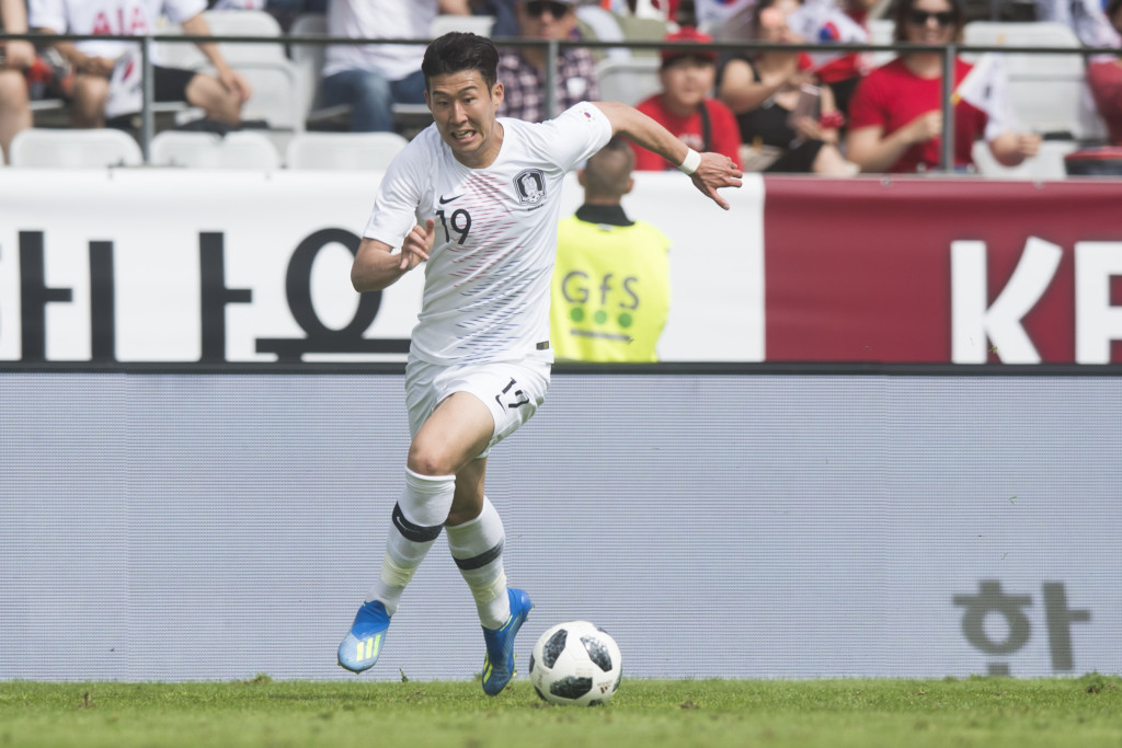 South Korea's hopes rest on Son's performance.