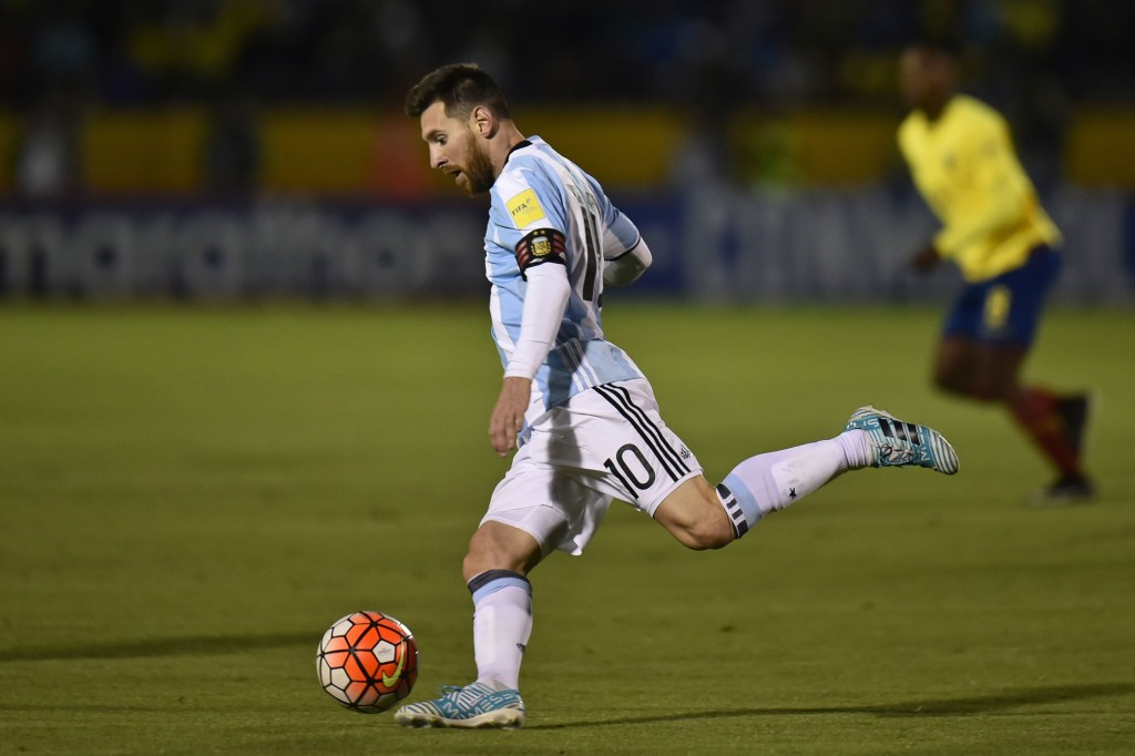 Argentina's hopes begin and end with Messi.