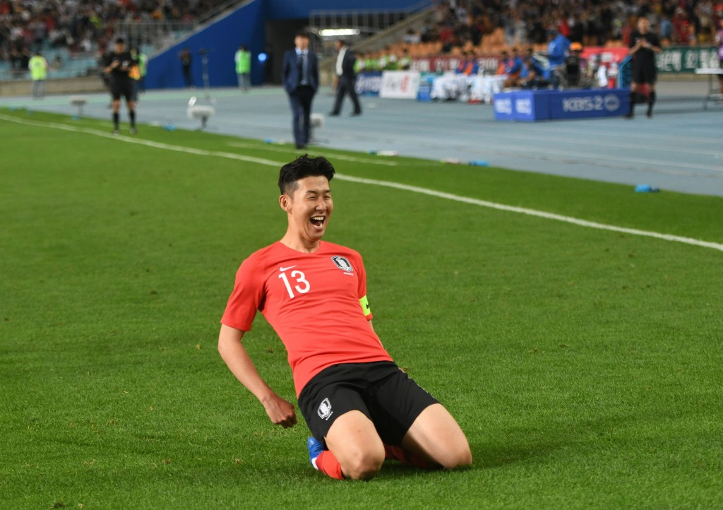 Star attraction: Not since Ji-sung Park have Korea had such a widely-known player.