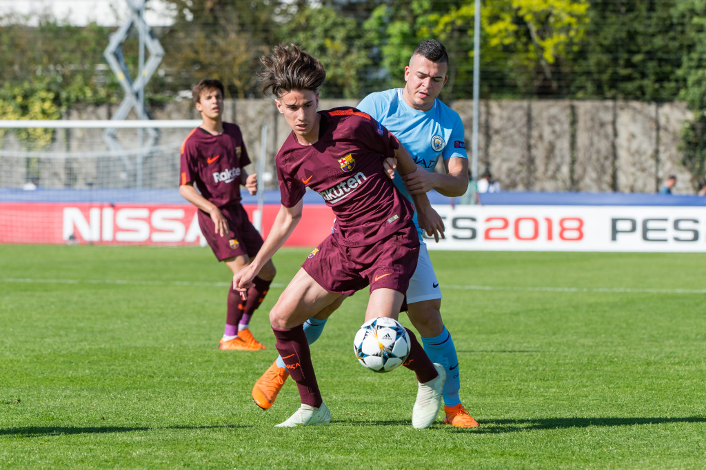 Alex Collado is the next midfielder up in La Masia's famed production line.